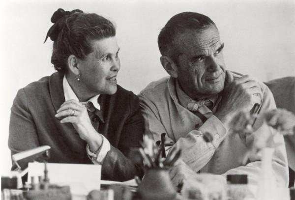 Arkitektene Charles og Ray Eames